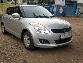 Used Maruti Suzuki Swift VXI MT car at low price in Pune