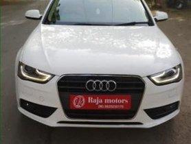 2014 Audi A4 2.0 TDI 177 Bhp Premium Plus AT for sale in Ahmedabad