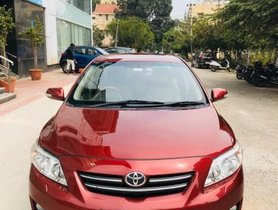 2009 Toyota Corolla Altis G MT for sale at low price in Bangalore