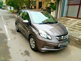 Honda Amaze 1.2 S i-VTEC, 2015, Petrol MT for sale in Chennai
