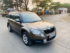 Used Skoda Yeti Ambition 4x2 MT car at low price in Mumbai