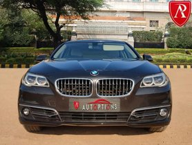 Used 2014 BMW 5 Series AT 2013-2017 for sale in New Delhi