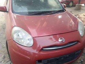 Used 2013 Nissan Micra Diesel MT for sale in Agra