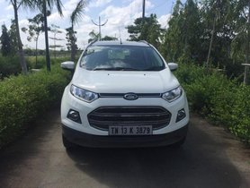 Used Ford EcoSport 1.5 TDCi Titanium 2017 MT for sale in Chennai