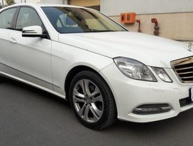 Used Mercedes Benz E-Class 220 CDI AT 2009-2013 car at low price in New Delhi