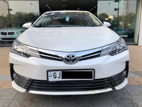 Used Toyota Corolla Altis 1.8 G 2018 MT for sale  in Ahmedabad
