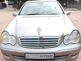 2007 Mercedes Benz C-Class 200 K AT for sale in Ahmedabad