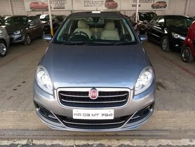 Used Fiat Linea Emotion Pack 2014 MT for sale in Bangalore