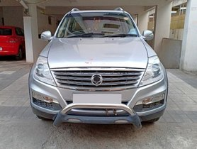 Mahindra Ssangyong Rexton RX7 AT 2013 for sale in Hyderabad