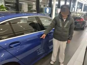 To Force His Father To Buy It For Him, Chinese Man Scratches A New BMW Car