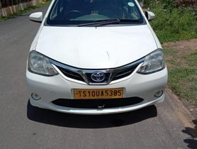 2016 Toyota Etios GD MT for sale in Hyderabad