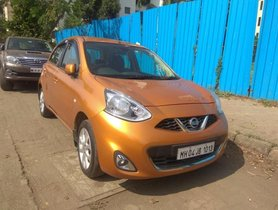 Used Nissan Micra XV CVT AT car at low price in Mumbai