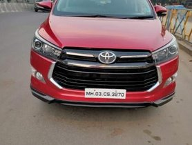 Used Toyota Innova Crysta MT car at low price in Thane