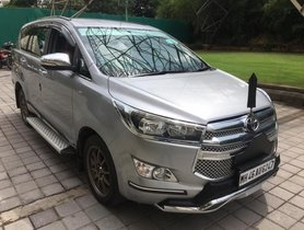 Toyota Innova Crysta 2.4 G MT 2016 for sale in Thane