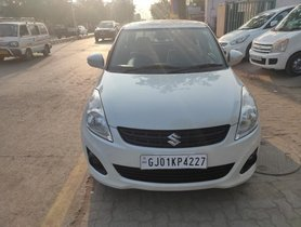 Used Maruti Suzuki Swift Dzire MT car at low price in Ahmedabad