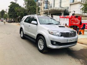2014 Toyota Fortuner 4x2 AT for sale in Noida