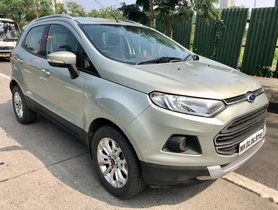Ford EcoSport 1.0 Ecoboost Titanium 2014 MT for sale in Mumbai