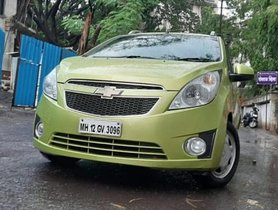 Used Chevrolet Beat LT 2011 MT for sale in Pune