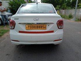 Used Hyundai Xcent 1.1 CRDi S MT car at low price in Hyderabad