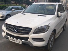 Used 2015 Mercedes Benz M Class ML 250 CDI AT for sale in New Delhi