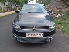 Used Volkswagen Polo 1.5 TDI Highline MT car at low price in Hyderabad