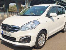 Maruti Suzuki Ertiga 2017 MT for sale in Thane
