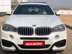 BMW X6 xDrive 40d M Sport AT 2015  in Ahmedabad
