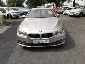 BMW 5 Series 2013-2017 520d Luxury Line AT for sale in Ahmedabad
