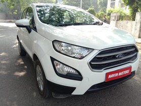 Ford EcoSport 1.5 Petrol Trend 2019 MT for sale in Ahmedabad