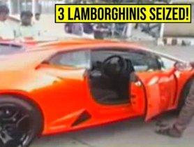 2 Lamborghini Urus And 1 Huracan Got Caught For Violating Traffic Rules