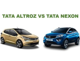 Tata Altroz Vs Tata Nexon: Sibling Rivalry