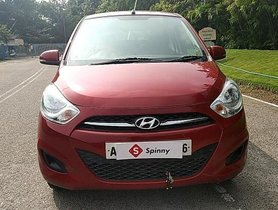 Hyundai i10 Sportz AT 2013 for sale in Hyderabad