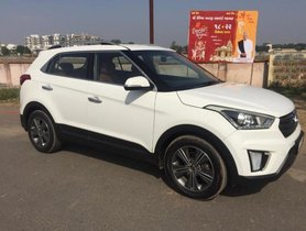 Used Hyundai Creta 1.6 CRDi SX Option MT car at low price in Ahmedabad