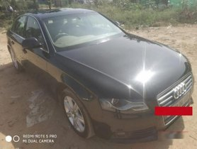 2008 Audi A4 2.0 TDI Multitronic AT for sale at low price in Hyderabad