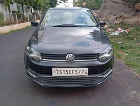 Used 2015 Volkswagen Polo MT for sale in Hyderabad at low price