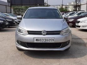 Used Volkswagen Vento Petrol Highline AT car at low price in Pune