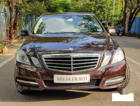 Used 2012 Mercedes Benz E Class AT for sale in Thane