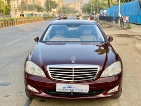 Mercedes Benz S Class 2005 2013 S 350 L 2008 AT for sale in Mumbai