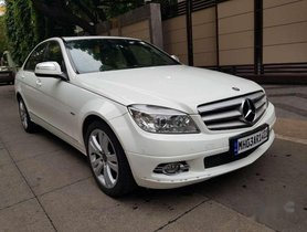 Mercedes-Benz C-Class C 220 CDI Avantgarde, 2008, Diesel AT for sale in Mumbai