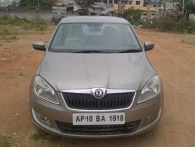 Used Skoda Rapid 1.6 TDI Ambition MT car at low price in Hyderabad