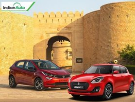 Maruti Swift vs Tata Altroz Comparison – The Biggest Hatchback Battle!