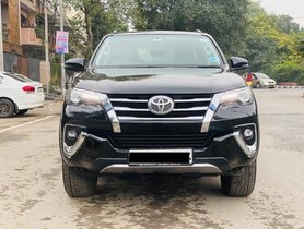 2018 Toyota Fortuner AT for sale at low price in New Delhi