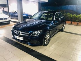 Used Mercedes Benz C-Class C 220 CDI Avantgarde AT car at low price in Pune