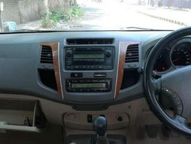 Used Toyota Fortuner 3.0 4x4 Manual, 2010, Diesel MT for sale in Ahmedabad