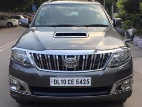 2013 Toyota Fortuner 4x4 MT in New Delhi for sale at low price