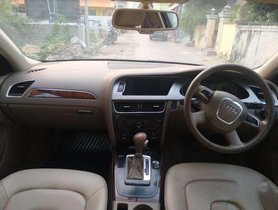 Used Audi A4 MT for sale in Chennai