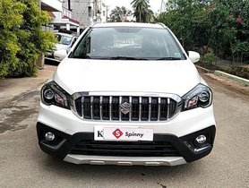 Used Maruti Suzuki S Cross MT car at low price in Bangalore