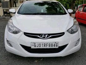 Used Hyundai Elantra MT car at low price in Ahmedabad