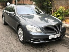 Used Mercedes Benz S Class S 500 AT in New Delhi 2005 2013 car at low price