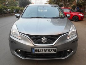 Used 2017 Maruti Suzuki Baleno Zeta MT for sale in Mumbai